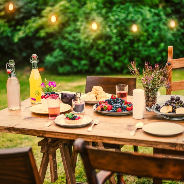 Summer dining table sets to make the most of your backyard