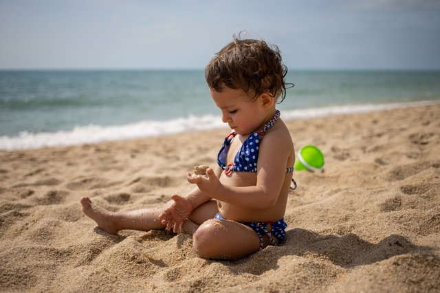 Babies and toddlers - as with all things - require a little more care and attention when you dress them for the pool