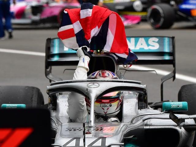 Lewis Hamilton won the British Grand Prix in 2019
