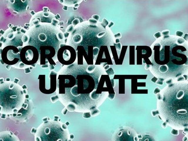 Yesterday's Coronavirus figures