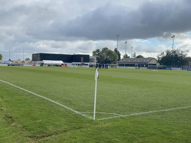 Grounds like Corby Town's Steel Park have been sitting empty for months following the suspension of football from Steps 3 and below