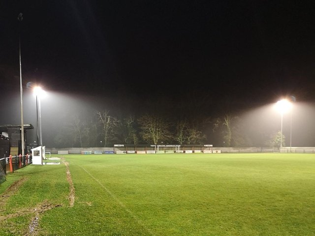New and improved floodlights have been installed at Tring Athletic