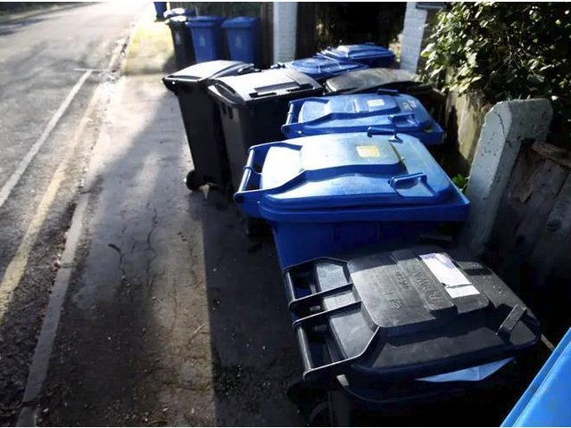 Residents in Buckinghamshire produce more than 400kg of waste each in a year, figures reveal.
