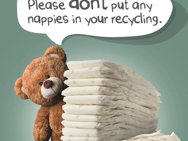 Listen to Ted and throw away your children's dirty nappies