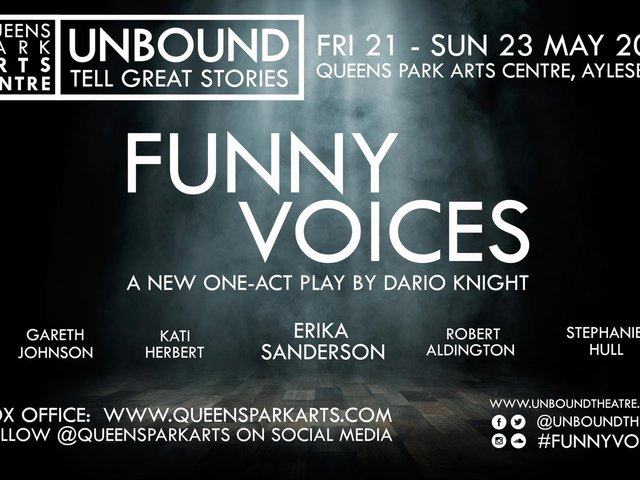 Funny Voices will be the first in-person production at the Limelight Theatre since the pandemic started