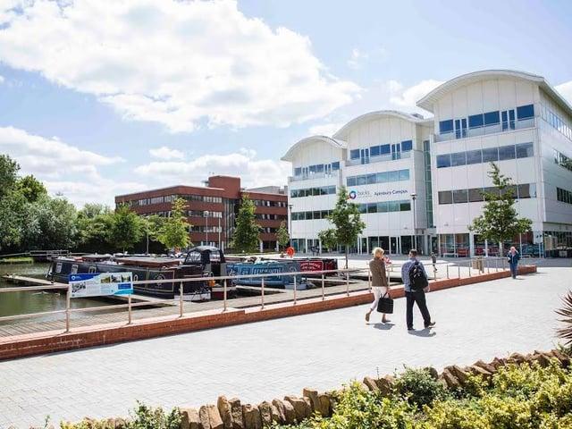 The Digital hub located at Buckinghamshire New University, Aylesbury Campus