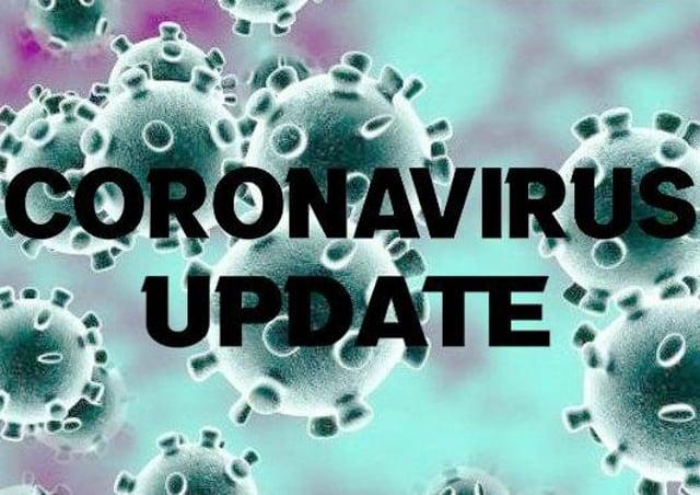 The Weekend Coronavirus figures