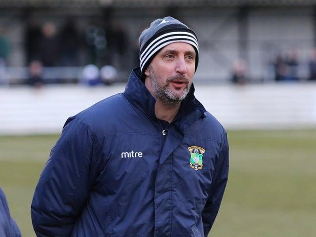 Aylesbury United manager Ben Williams