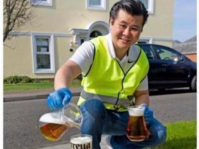 Kelvin Wong, landlord of the Watermead Inn