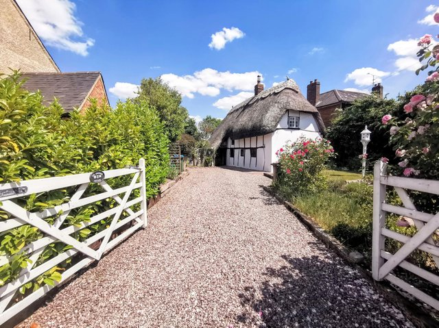 The cottage is up for sale