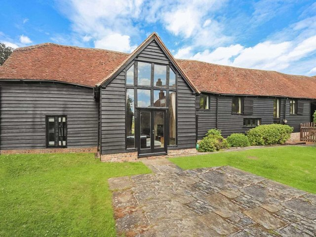 This five-bedroom barn conversion in Tring is on the market right now