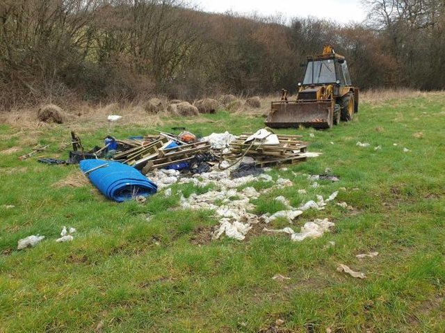 Penn farm sees 'dramatic' rise in fly-tipping 'since tip charges introduced'
