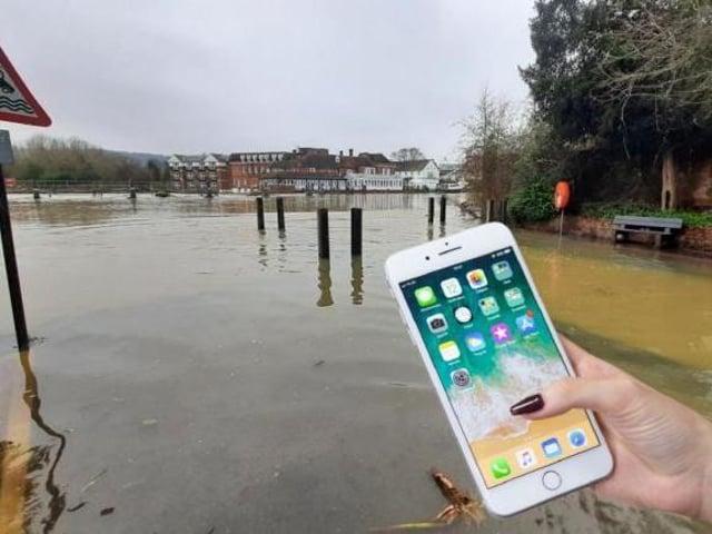 Bucks to trial 'flood alert' app – as Slough adopts 'sponge city' idea