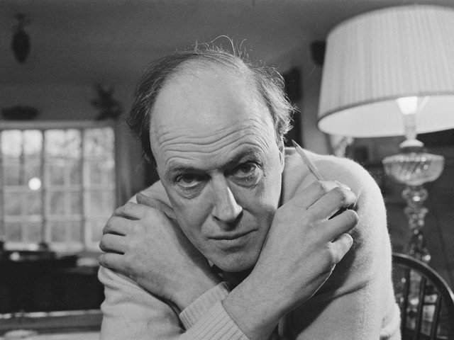 Roald Dahl pictured in 1971. Picture: Ronald Dumont/Daily Express/Getty Images