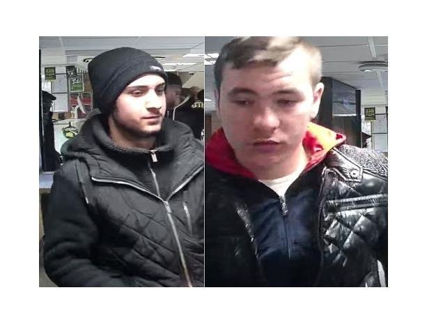 Men wanted by police to help with their investigation into a robbery in Aylesbury