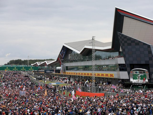 The British Grand Prix attracts around 350,000 fans every year