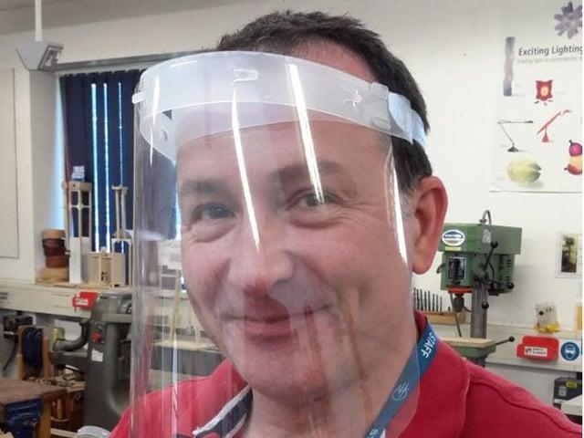 Headteacher Giles Scoble