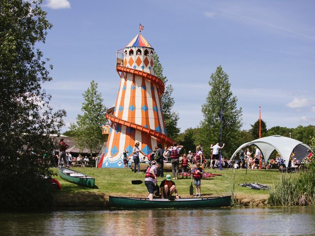 The festival is set in countryside on Blackpit Farm