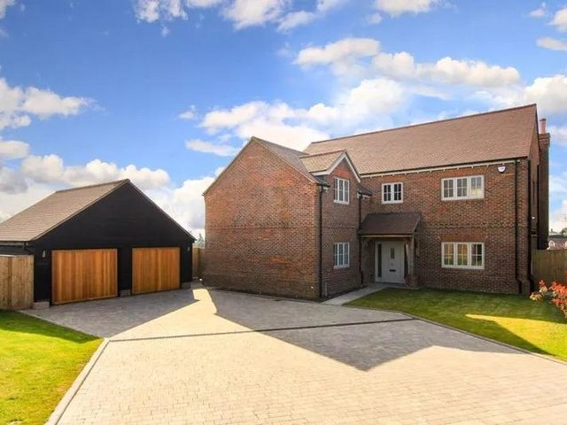 This five-bedroom family home in Tring is on the market right now.