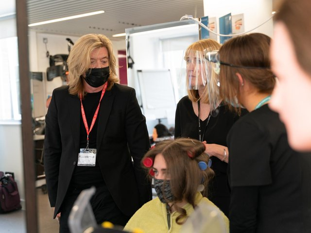 Renowned hairstylist Nicky Clarke at the launch
