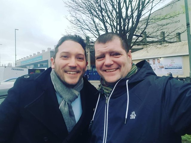 Jon Richardson and Martin Hywood