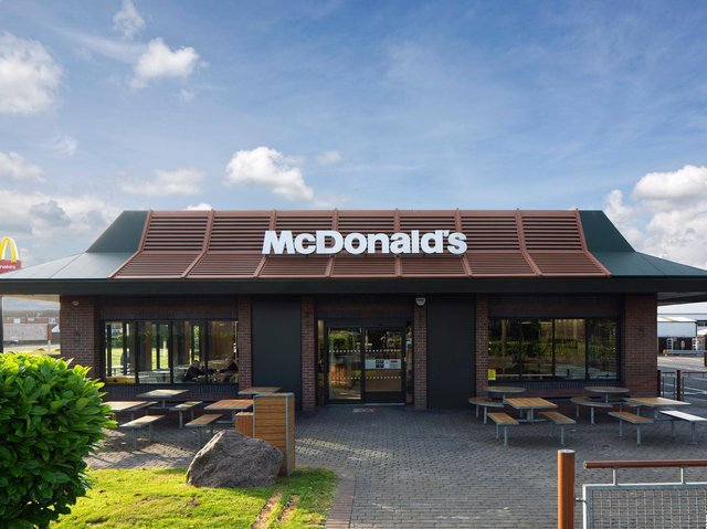 Aylesbury's Broadfields McDonalds