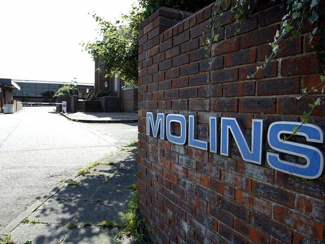 Molins was formerly a big employer in the area