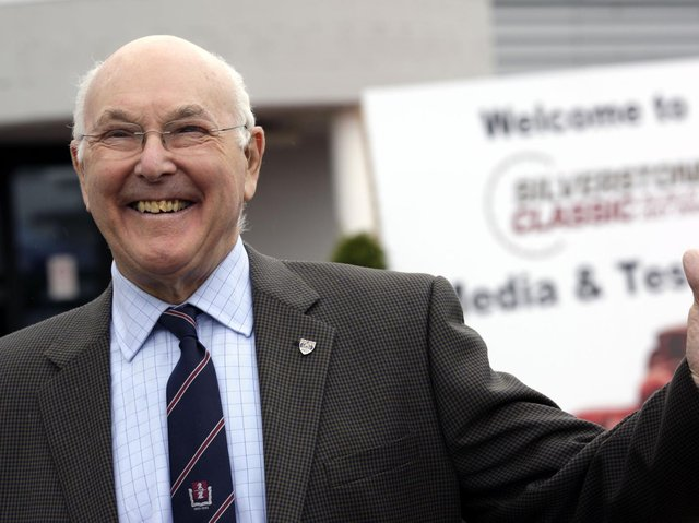 Murray Walker was passionate about Silverstone