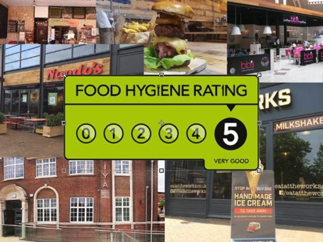 These Aylesbury restaurants have a five star hygiene rating