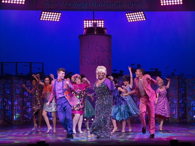 Hairspray the Musical returns with a bang at the Waterside Theatre in Aylesbury