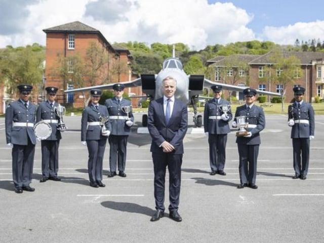 Rob Butler at RAF Halton