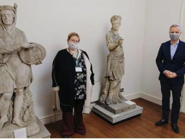Rob Butler at the Buckinghamshire Museum last week