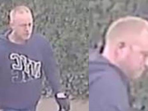 Police in Aylesbury want to speak to this man in connection to a robbery on April 27