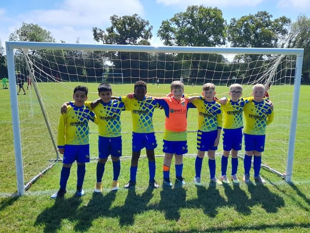 The Under 10s enjoyed some close games with Flackwell Heath