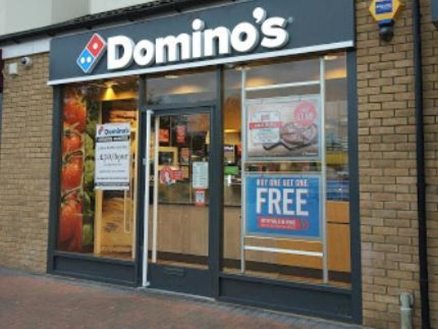 Aylesbury Dominoes to trial 'in car' pizza collection