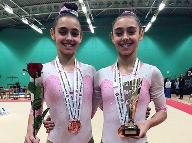 Jessica and Jennifer Gadirova