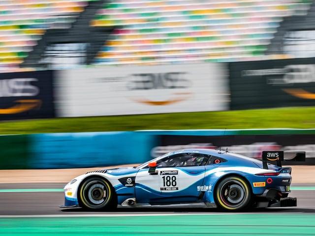 Ross Gunn will contest the 2021 Total Spa 24 Hours  for the Garage 59 Aston Martin team (Photo James Beckett)