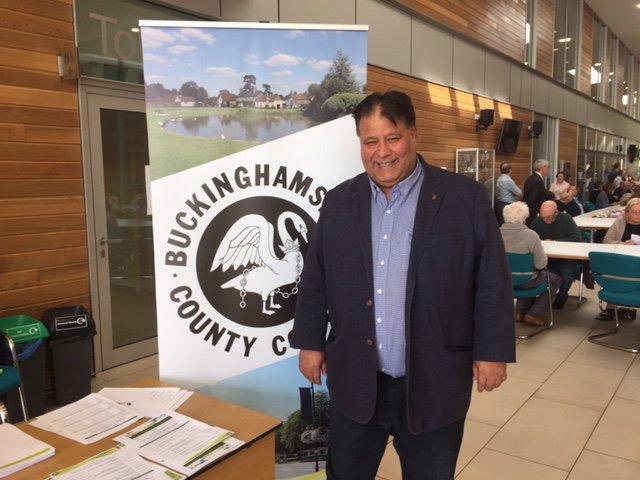 Councillor Raj Khan (Buckinghamshire Council)