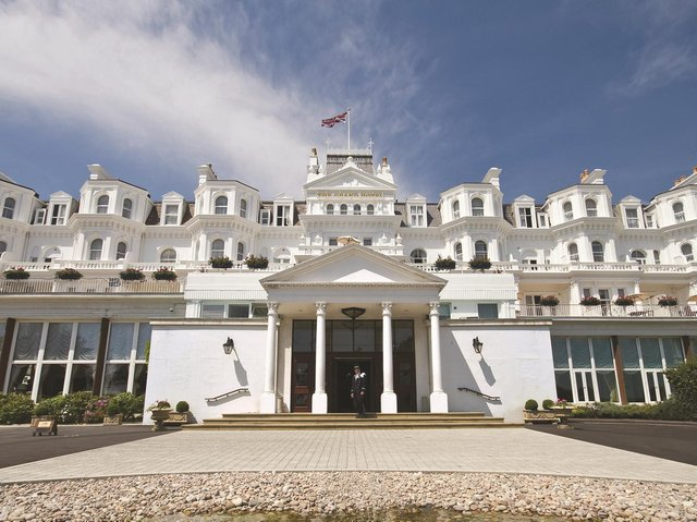 The Grand Hotel, Eastbourne, is known as the White Palace