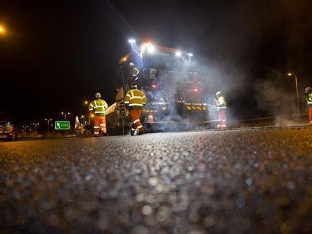 road maintenance is planned in Bucks for the next 12 months