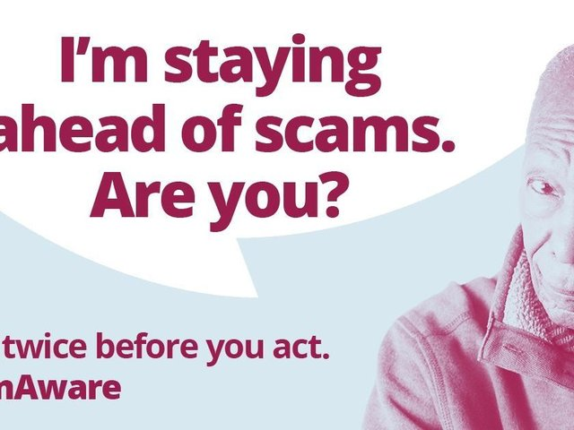Bucks Council is asking Aylesbury residents to remain scam aware