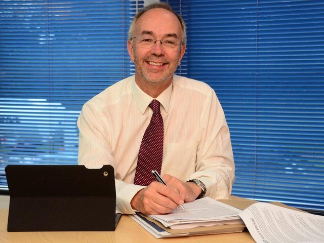Council Leader Martin Tett