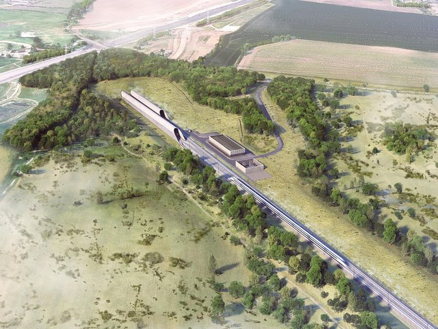 HS2 plans to enhance the environment around its tunnel