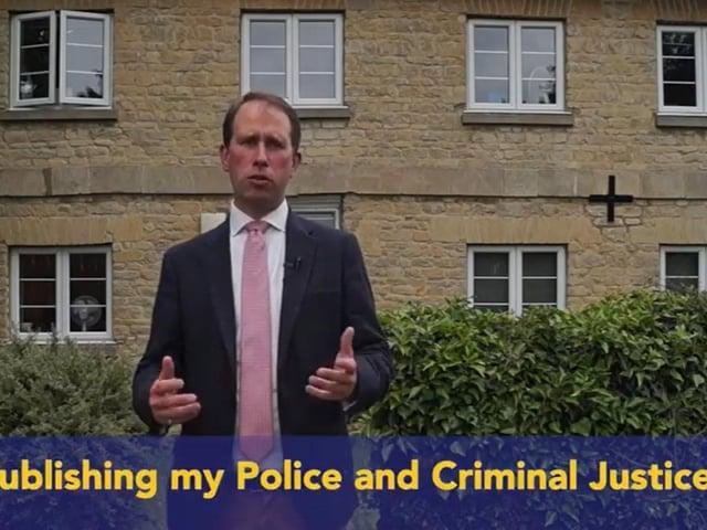 Thames Valley Police Commissioner Matthew Barber