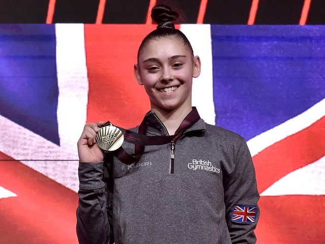 Jessica Gadirova