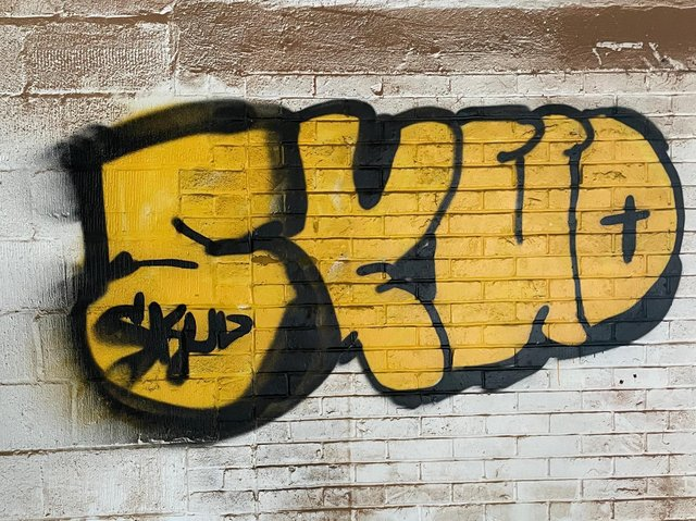 Do you recognise this graffiti tag?