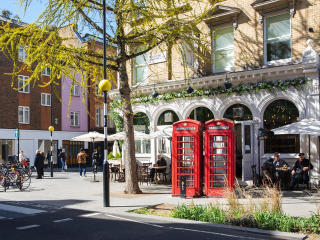 Marylebone Village is a delight to walk through