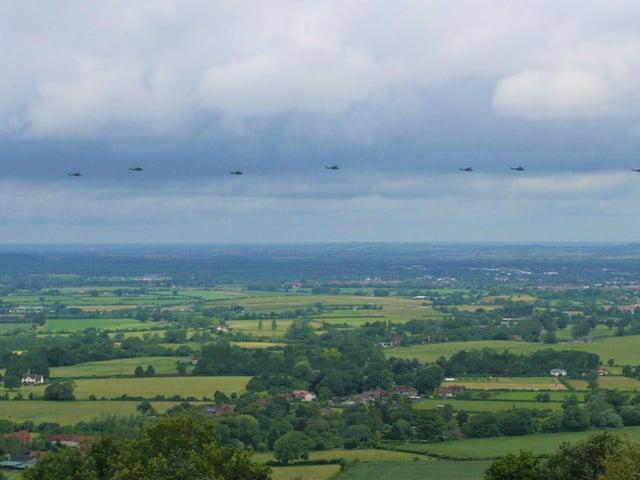 RAF Puma 50s photo by Nik Screen, London