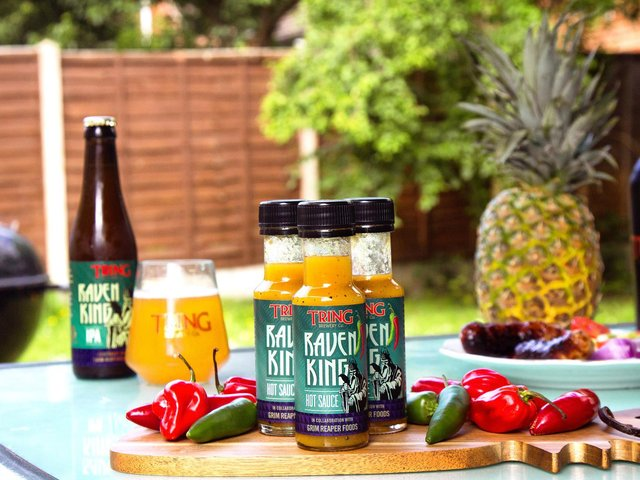 Tring Brewery launch hopped hot sauce for National BBQ Week