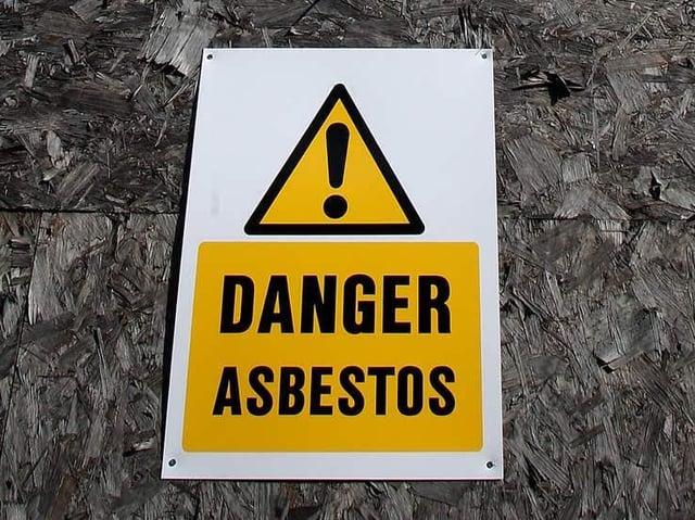36 asbestos related deaths were recorded in Aylesbury Vale in five years